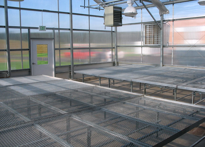United Greenhouse Systems Greenhouse Benching Systems